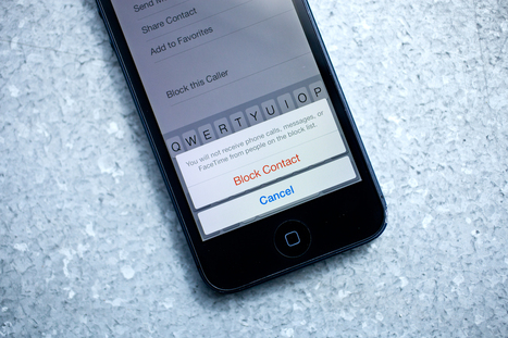 Silence Is Golden: A Guide to Blocking Calls and Texts in iOS 7 | Gadget Lab | WIRED | Cyber Bullying | Scoop.it