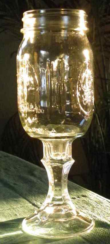 Redneck Wine Glass for Canning Enthusiasts | Your Small Kitchen Garden | Annie Haven | Haven Brand | Scoop.it