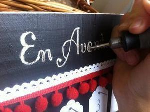 Fabriquer un calendrier de l'Avent en bois #tuto #DIY #Noël | Best of coin des bricoleurs | Scoop.it