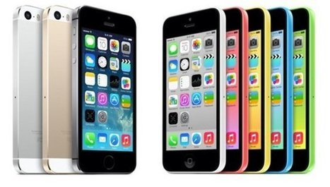 Apple Selling Twice As Many iPhone 5S Handsets Compared To iPhone 5C | Marketing | Scoop.it