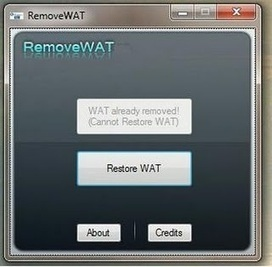 Win 7 Permanent Activator RemoveWAT v2.2.6 Final With Key Free Download | Dreammucic | Shahin Ullah | Scoop.it