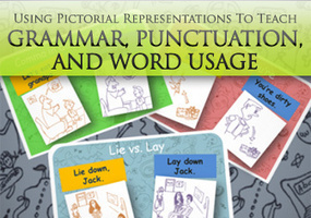 Using Pictorial Representations To Teach Rules Of Grammar, Punctuation, And Word Usage | French Teachering | Scoop.it