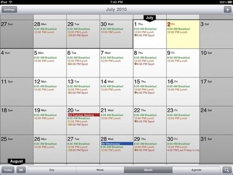 10 Calendar Apps For Improved Scheduling | Professional support | Scoop.it