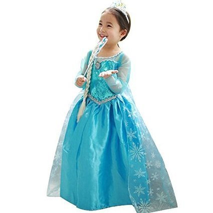 Deluxe Princess Queen Dress Costume Cosplay Tulle Girl Christmas Party Dresses | Health and Beauty Care | Scoop.it