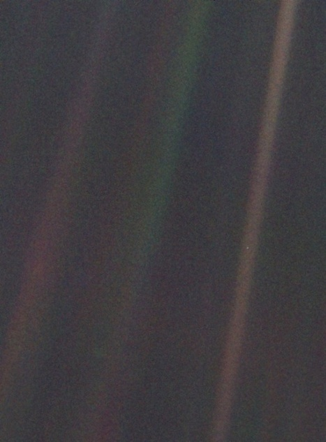 An Early Draft of Carl Sagan's Famous Pale Blue Dot Quote | Outbreaks of Futurity | Scoop.it