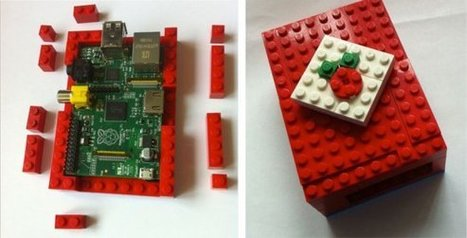 MAKE | Lego Raspberry Pi Enclosure | Raspberry Pi | Scoop.it