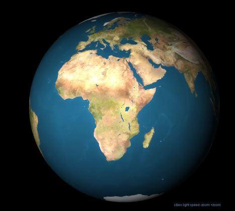 3D Aarde: een ronddraaiende aardbol (applet) | Turning world | Scoop.it