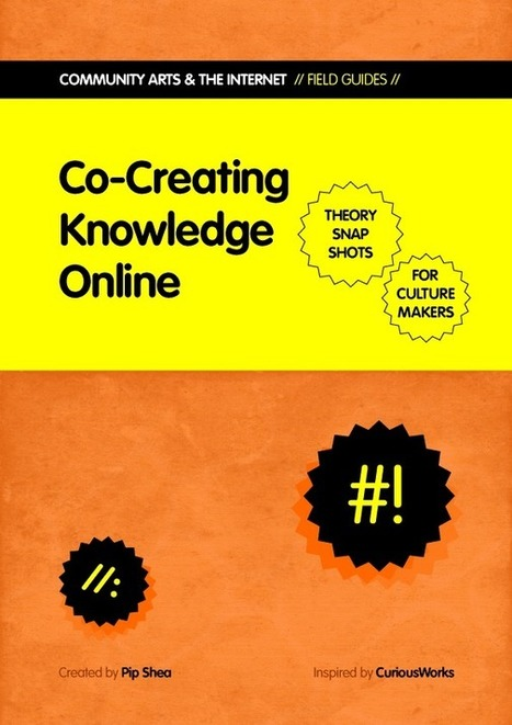 Free PDF: Pip Shea - Co-Creating Knowledge Online | Open Educational Resources (OER) | Scoop.it