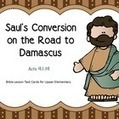 Saul's Conversion on the Road to Damascus Task Cards | Children's Ministry Ideas | Scoop.it