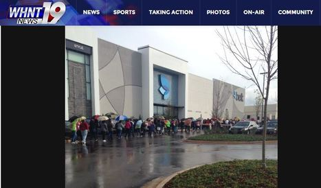 Crowd of shoppers ready for Belk's opening at Bridge Street | WHNT | Belk, Inc. Modern. Southern. Style. | Scoop.it