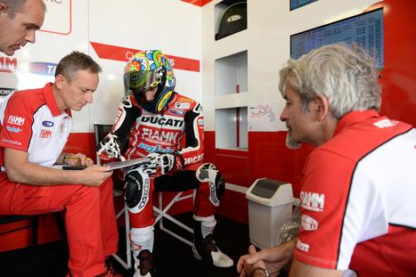 Photo Gallery - Ducati Superbike Team - Misano Friday | Ductalk Ducati News | Scoop.it