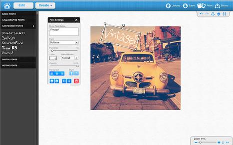 12 editores de imágenes en línea que no debemos dejar de probar | Herramientas digitales | Scoop.it