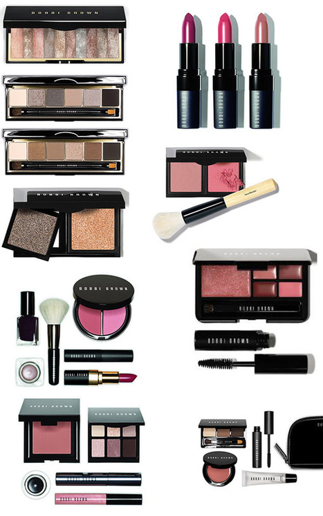Bobbi Brown Makeup Collection & Gift Sets for Holiday 2013 – Beauty Trends and Latest Makeup Collections | Chic Profile | Holiday Makeup | Scoop.it