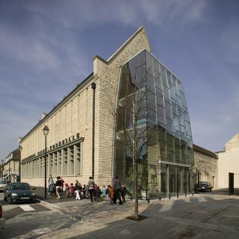 Bibliothèque Saint-Corneille - Compiègne, par ARCHITECTURE PATRICK MAUGER | Bibliothèques en évolution | Scoop.it
