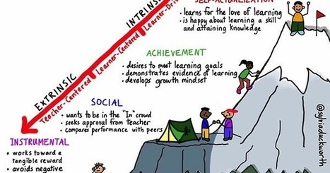 Personalize Learning: Continuum of Motivation: Moving from Extrinsic to Intrinsic | Organización y Futuro | Scoop.it
