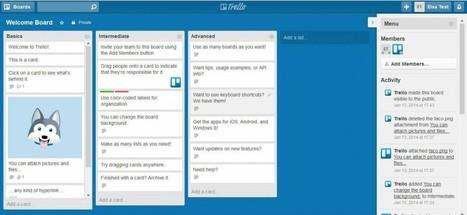 Étude d'outil collaboratif : Trello | Knowledge Management | Scoop.it
