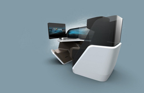 The next generation airline seat will know everything about you | Internet of Things News | Scoop.it