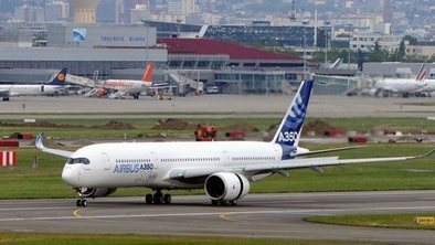 Airbus A350 makes maiden test flight | A2 Business Studies | Scoop.it