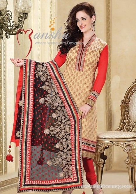 Latest Indian Winter Dresses 2014 For Girls | Fashion Blog | Scoop.it