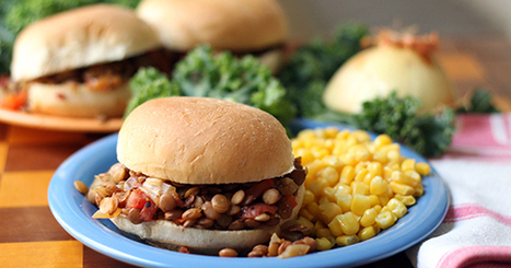 Sloppy Lentil Joes | My Vegan recipes | Scoop.it