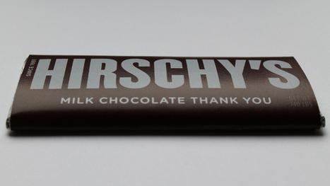 Encore un CV original sur une tablette de chocolat | Insolites | Scoop.it