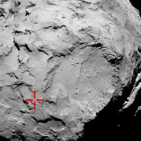 Philae Lander Early Science Results: Ice, Organic Molecules and Half a Foot of Dust | Physics as we know it. | Scoop.it
