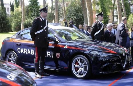 Alfa Rome Giulia Quadrifoglio: veste la divisa dei Carabinieri   Motori e Buon Cibo   Scoop.it