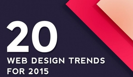 Les 20 tendances du Web Design pour 2015 en infographie | Web mobile - UI Design - Html5-CSS3 | Scoop.it