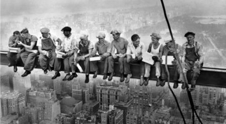 «Déjeuner en haut d'un gratte-ciel»: la célèbre photo révèle de nouveaux secrets   Slate   La minute culturelle de Plumblossom   Scoop.it