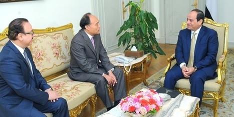 President El Sisi Meets ITU Secretary General | ITU headlines | Scoop.it