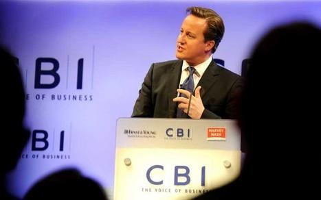 David Cameron: CBI speech in full - Telegraph   Environment Matters   Scoop.it