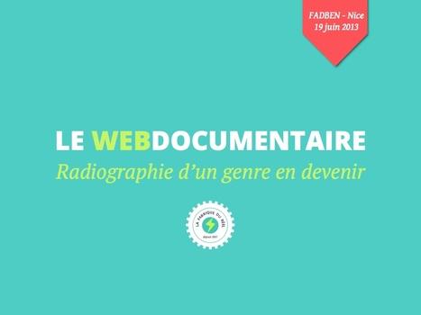 Le Web Documentaire en France : Radiographie d'un Genre Émergent | Milkshake & Digital | Scoop.it