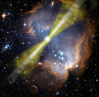 ¿Somos el resultado de un bombardeo de radiación extraterrestre? | RADIACIÓN, CAUSAS Y EFECTOS. | Scoop.it