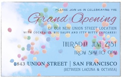 Opening Party | Marmalade Grand Opening 6/21 | San Francisco | Around Town | Scoop.it