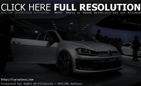 2014 VW Golf R 400 Concept | CarsPiece | Scoop.it