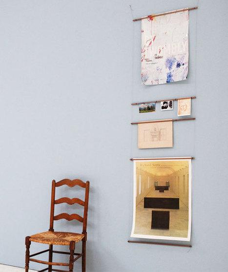 Echelle à Affiches par Marie-Aurore Stiker-Metral : Encadrement Photo Modulable | Du mobilier, ou le cahier des tendances détonantes | Scoop.it
