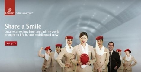 """Creative Advertising On Youtube! Emirates Launches """"Share A Smile"""" - 15 Second Video Campaign. 
