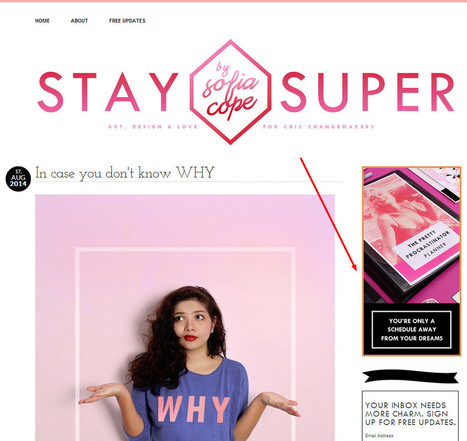How to turn your blog into an online store | Artdictive Habits : Sustainable Lifestyle | Scoop.it