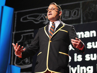 Chip Kidd: Designing books is no laughing matter. OK, it is. | My Favorite TED Talks | Scoop.it