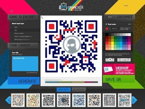 Comment personnaliser un QR Code | Korben | Time to Learn | Scoop.it