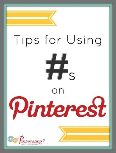 Tips for Using Hashtags on Pinterest | Social media for charities | Scoop.it