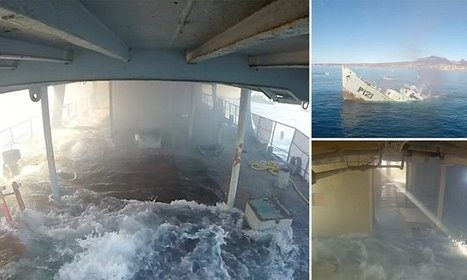 Cameras film ship being deliberately sunk to form artificial reef  | Baja California | Scoop.it