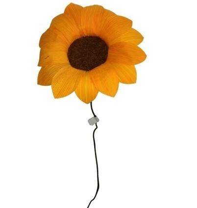 Handmade Corn Husk Sunflower Flower | Mexican Furniture & Decor | Scoop.it
