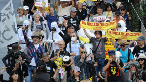 'Don't pollute our sea:' Mass demo in Tokyo to ban nuclear energy (PHOTOS) | Geography | Scoop.it