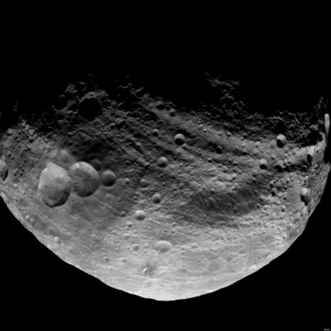 Mysterious Landforms On Asteroid Puzzle Scientists   Realms of Healthcare and Business   Scoop.it