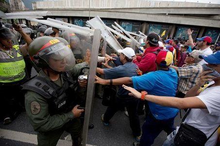 Journée à haut risque au Venezuela, où l'état d'exception a été rejeté | Venezuela | Scoop.it