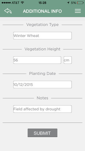 Canopeo is a rapid and accurate green canopy cover measurement tool | Ag app | Scoop.it