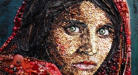 Images of Famous Paintings Recreated with Found Objects | girls who art & graffiti | Scoop.it