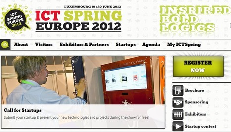 ICT Spring Europe 2012 | Luxembourg (Europe) | Scoop.it