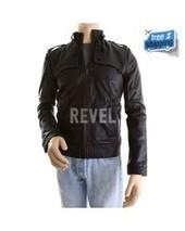 Men's Black Slim fit Leather Jacket - Arthur | Leather Jacket | Scoop.it